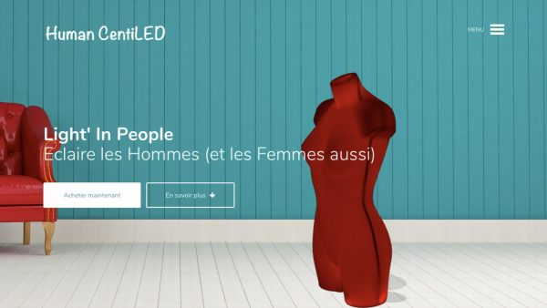 Page accueil site Human Centiled